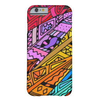 Coque iPhone 6 Barely There Conception africaine colorée