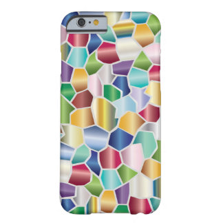 Coque iPhone 6 Barely There Conception en verre de tache de mosaïque