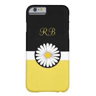 Coque iPhone 6 Barely There Conception gaie de dames florales de monogramme