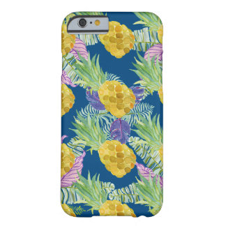 Coque iPhone 6 Barely There conception tropicale superbe d'ananas