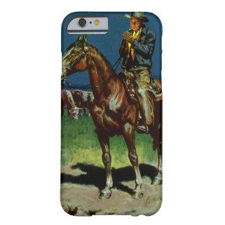 Coque iPhone 6 Barely There Cowboy vintage, élevant le propriétaire d'un ranch