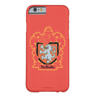Coque iPhone 6 Barely There Crête de Gryffindor de bande dessinée