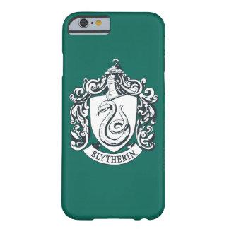 Coque iPhone 6 Barely There Crête de Harry Potter | Slytherin - noire et