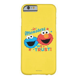 Coque iPhone 6 Barely There Dans les monstres nous faisons confiance !