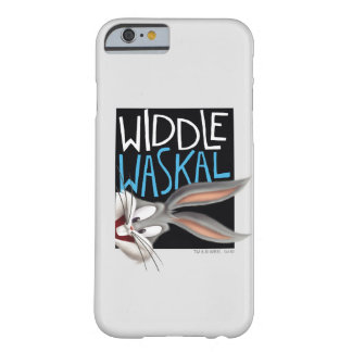 Coque iPhone 6 Barely There ™ de BUGS BUNNY - Widdle Waskal