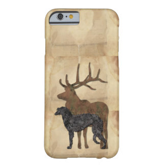 Coque iPhone 6 Barely There Deerhound & deer