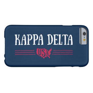 Coque iPhone 6 Barely There Delta Etats-Unis de Kappa
