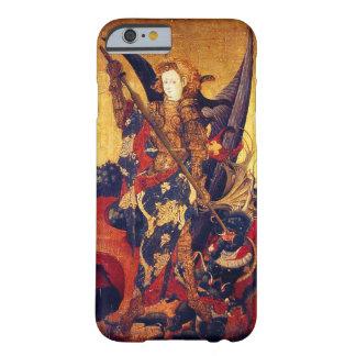 Coque iPhone 6 Barely There Diable de victoire de St Michael en tant que