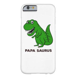 Coque iPhone 6 Barely There Dinosaure de Saurus de papa