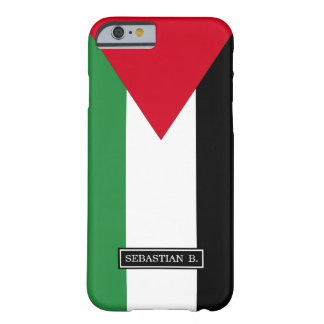 Coque iPhone 6 Barely There Drapeau de la Palestine