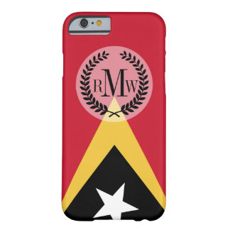 Coque iPhone 6 Barely There Drapeau du Timor oriental