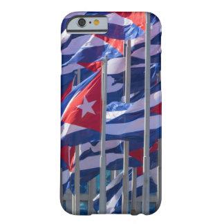 Coque iPhone 6 Barely There Drapeaux cubains, La Havane, Cuba