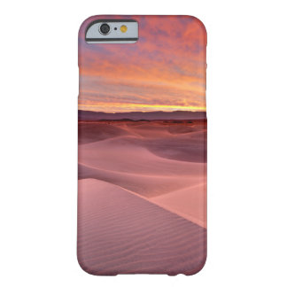 Coque iPhone 6 Barely There Dunes de sable roses, Death Valley, CA
