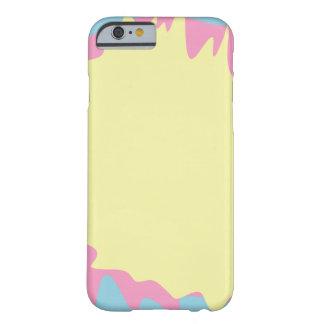 Coque iPhone 6 Barely There Éclaboussure en pastel de peinture