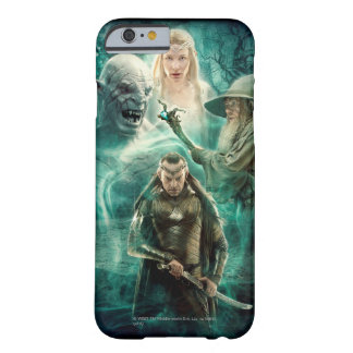 Coque iPhone 6 Barely There ELROND™, Azog, Galadriel, et graphique de Gandalf