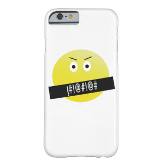 Coque iPhone 6 Barely There Emoji fâché