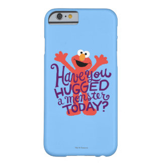 Coque iPhone 6 Barely There Étreindre d'Elmo