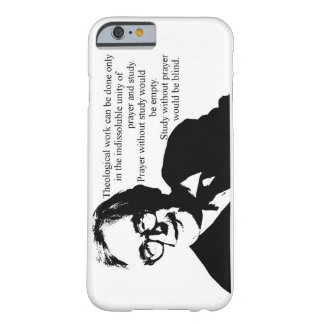 Coque iPhone 6 Barely There Étude et prière Karl Barth