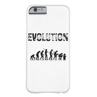 Coque iPhone 6 Barely There Évolution de conception humaine de Monkey_Boss