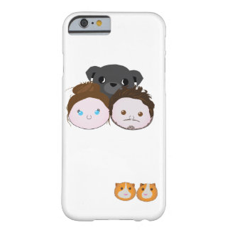 Coque iPhone 6 Barely There Famille de Zalfie