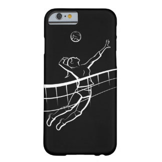 Coque iPhone 6 Barely There Femelle de transitoire de volleyball