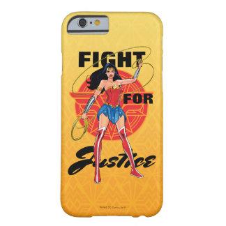 Coque iPhone 6 Barely There Femme de merveille avec le lasso - combat pour la