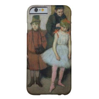 Coque iPhone 6 Barely There Femme d'Edgar Degas | avec deux petites filles