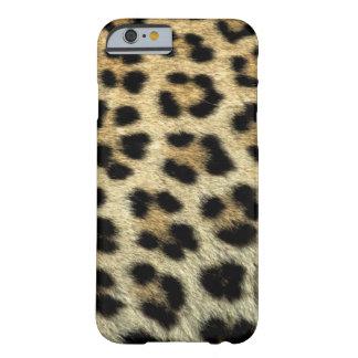 Coque iPhone 6 Barely There Fermez-vous des taches de léopard, Afrique