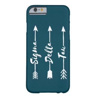 Coque iPhone 6 Barely There Flèche de Tau | de delta de sigma