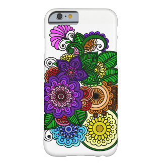 Coque iPhone 6 Barely There Fleurs de mandala