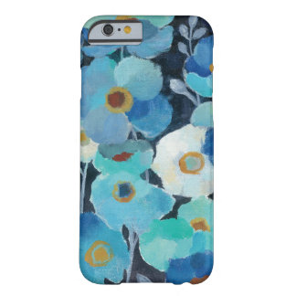 Coque iPhone 6 Barely There Fleurs d'indigo
