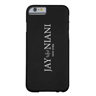 Coque iPhone 6 Barely There Geai Niani - logo blanc - cas d'Iphone 6/6s