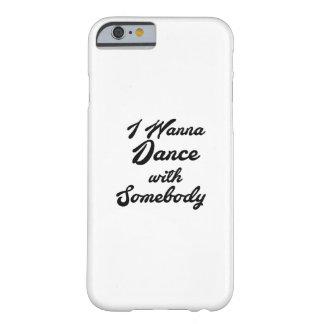 Coque iPhone 6 Barely There GIF de danse que je veux danser avec quelqu'un