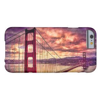 Coque iPhone 6 Barely There Golden gate bridge à San Francisco, la Californie
