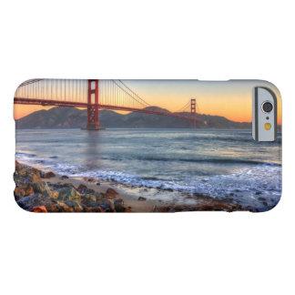 Coque iPhone 6 Barely There Golden gate bridge de traînée de San Francisco Bay