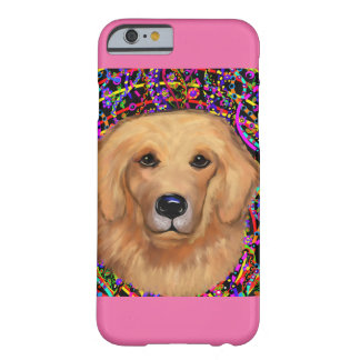 Coque iPhone 6 Barely There Golden retriever