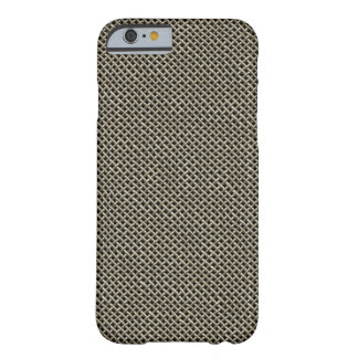 Coque iPhone 6 Barely There Grillage d'acier inoxydable