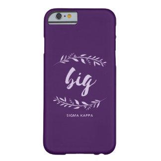 Coque iPhone 6 Barely There Guirlande de Kappa de sigma grande