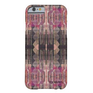 Coque iPhone 6 Barely There HAMbWG - caisse rose de Bohème de téléphone