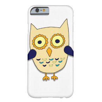 Coque iPhone 6 Barely There Hibou coloré