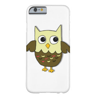 Coque iPhone 6 Barely There Hibou de Brown