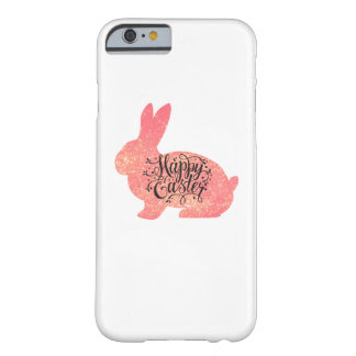 Coque iPhone 6 Barely There Hommes drôles heureux de femmes d'enfants de lapin
