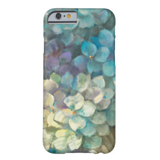Coque iPhone 6 Barely There Hortensia de turquoise