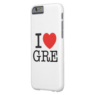 Coque iPhone 6 Barely There I Love Gre