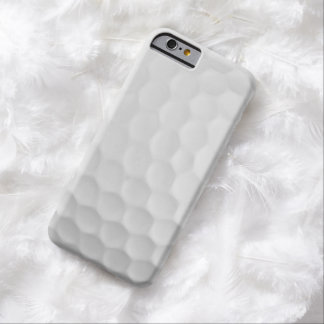 Coque iPhone 6 Barely There Image fraîche du motif blanc de fossettes de boule