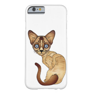 Coque iPhone 6 Barely There iPhone 6/6s, à peine là cas de chat siamois de