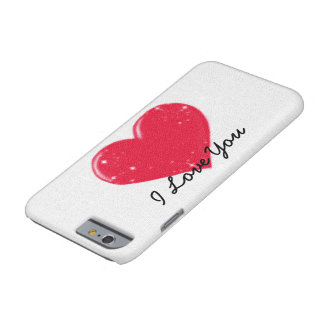 Coque iPhone 6 Barely There iPhone 6/6s, Barely There I LOVE YOU