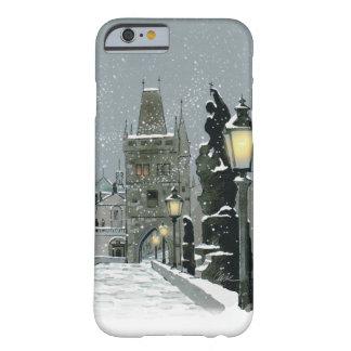 Coque iPhone 6 Barely There iPhone 6/6S d'hiver de pont de Charles à peine là