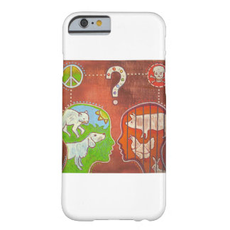 Coque iPhone 6 Barely There iPhone 6 vegan anti speciesism