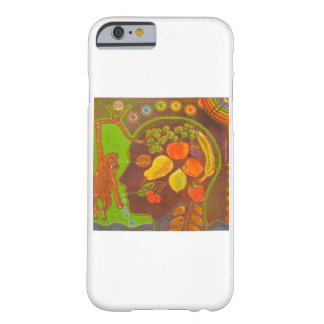 Coque iPhone 6 Barely There iPhone 6 vegan monkey fruits